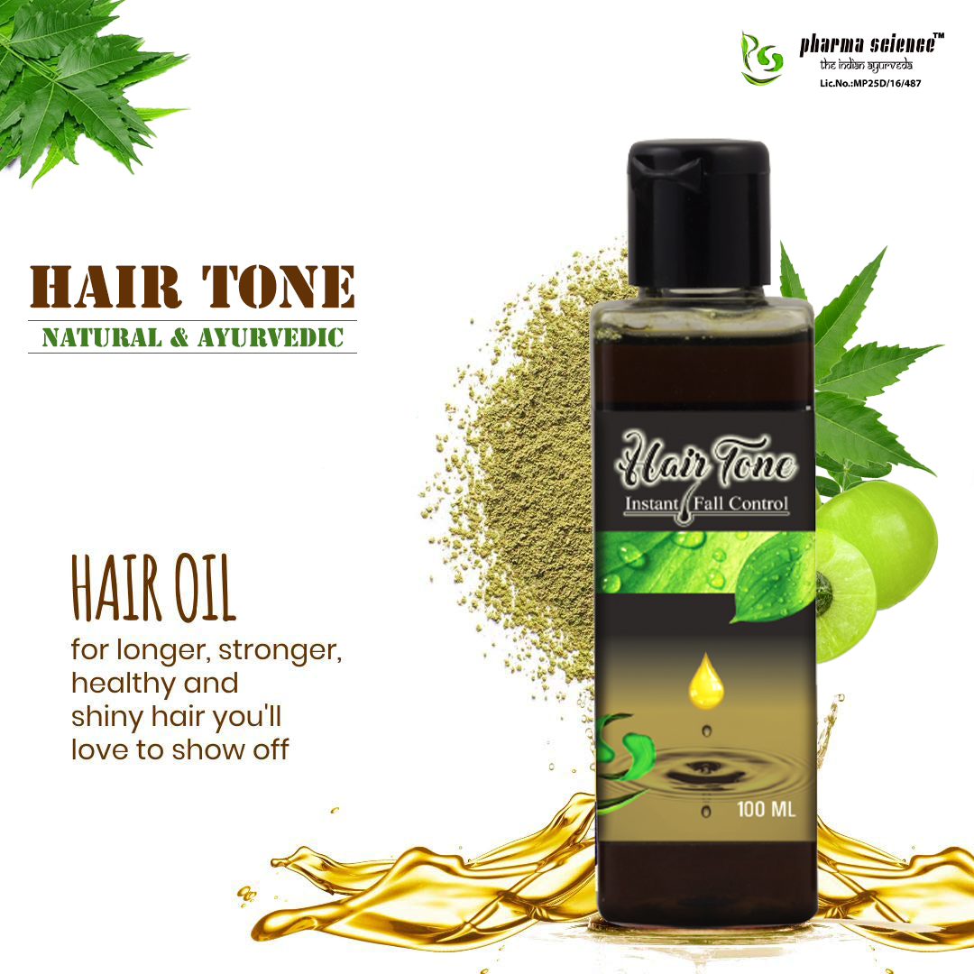 Can Hair Tone Oil Make My Hair Healthy and Shiny?